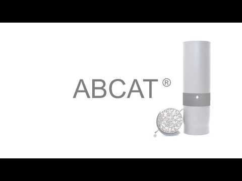 ABCAT® houtrookfilter Ø150mm L=500mm
